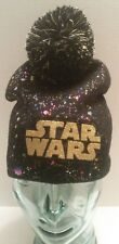 Star Wars Girls Pom Beanie Fashionable Multi-Color One Size Fits Most NEW