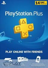 PSN 14 dias Playstation Plus online PS3 PS4 (envío de código por email)