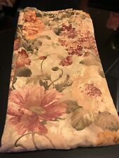 Floral Fabric Curtain