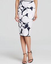Cynthia Rowley Slim Leaf Printed Bodycone Pencil Skirt .NWT Sz.0
