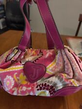 Juicy Couture Velour Pink Floral Pa