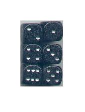 NEW Dice Set of 6 D6 (16mm) - Speckled Ninja