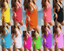VB3 Womens Casual Sexy Beachwear Swimwear Sundress Top Summer Ladies Dress 2017