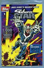 Jack Kirby's Silver Star #1 1993 Trading Cards Kurt Busiek James Fry Topps Comic