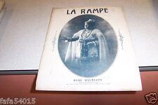 REVUE LA RAMPE N° 231 RENE MAURIANN 23 04 1921