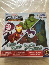 Marvel Super Hero Adventures 25 Piece Foam Puzzle Brand New In Box