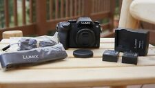 Panasonic LUMIX G7 4K Digital Camera - Black with 12-32mm Zoom Lens