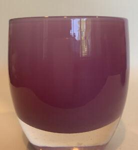Glassybaby Lavender  Purple Votive Candle Holder Near Mint