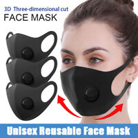 Sponge Face Mask Anti-Fog Haze Face Mouth Cover Breathable Washable