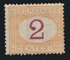 1870 ITALIA REGNO SEGNATASSE C 2 MNH**  INTEGRO - RE06-10