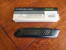 Festool 498183 Safety Cutter Knife - Utility & Box Razor Blade