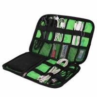 Organisateur de voyage Etui pour câble pour carte mémoire Pochette de rangement