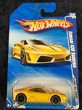 Hot Wheels 2010 Global All Stars Yellow Ferrari 430 Scuderia