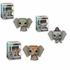 3 Set Dumbo 2019 Disney Fireman Dreamland & Dreamland Exclusive Funko Pop Bundle