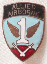 Insigne 1° ALLIED AIRBORNE WWII 1° RCP Régiment de Chasseurs Parachutiste 1944