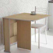 Mesa extensible abatible de cocina color haya 3 posiciones 80x135cm envio rapido