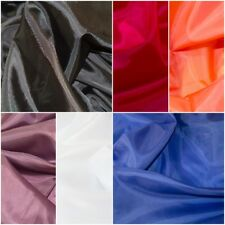 Polyester lining  various colours 150cm wide, dressmaking sewing fabric, patch