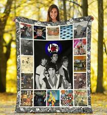 The Who Band Print In US Fleece Blanket, Quilt Blanket