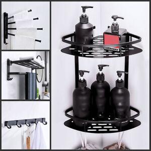 7-teiliges Set Bad Accessoires Badezimmer Badausstattung WC Bürste Handtuchhaken