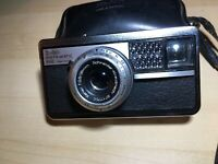 Kodak Instamatic 500 126 Film Camera w/ Schneider-Kreuznach Xenar 38mm F2.8 Lens