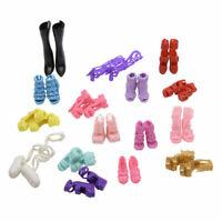 16 Pairs Fashion Verschiedene Mehrere Stile High Heel Geschenke Schuhe für J2M9