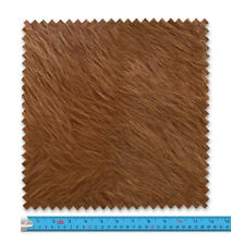 Realistic Brown Cow Fur Fabric 21 Variations Price Per Metre LSFABRIC286