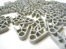 Job Lot : 50 K'NEX Pieces - KNEX Light Grey Connector 2-way - #90903