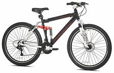 "27.5"" Mens Mountain Bike Bicycle Disc Brakes 21 Speed Offroad Full Suspension"