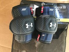 Under Armour Player Ss Arm Pad, Black navy White Size Sm