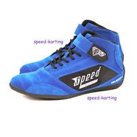"""Kartschuhe Blau """"Milan"""" - Speed Racewear - Bewärte Qualität in neuem Design"""