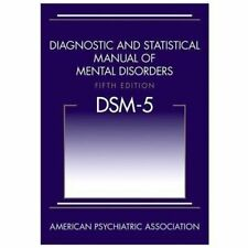 Diagnostic and Statistical Manual of Mental Disorders by American Psychiatric Assciation (2013, Hardcover, Fifth Edition)