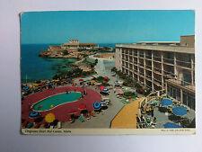 Malta Vintage colour Postcard 1982 Dragonara Hotel