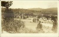 Weaverville Basin CA 1912 Used Real Photo Postcard