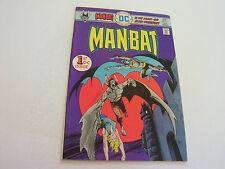 Man-Bat Comic #1 January 1976 Silky Smooth Cover Ditko Art Very Fine