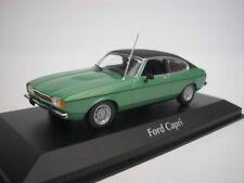 FORD CAPRI II 1974 VERDE METALLICO 1/43 maxichamps 940081200 NUOVO