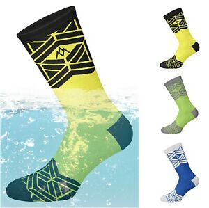 100% Waterproof Breathable Hiking/Biking/Skiing Socks, Bamboo Inside,All Climate
