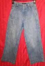 Boy's Old Navy Loose Fit Painter Jeans Med Wash Size 10 Slim Excellent