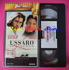 VHS film L'USSARO SUL TETTO Martinez Juliette Binoche PANORAMA (F90 * ) no dvd