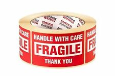 Fragile Handle With Care Shipping Packaging Labels 50x80mm, 500pcs/roll