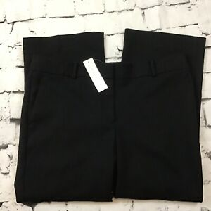 Ann Taylor Black Slacks Pants Womens Sz 12 NWT