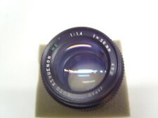Auto Revuenon  MC   1:1,4   50 mm Pentax K Anschluß