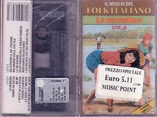 Il meglio Del Folk Italiano Vol. 6 La Mondina Mc Sigillata Sealed