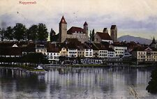 Rapperswil, Teilansicht, 1908