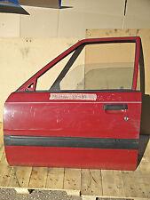 Mazda 626 '82-'87 - Fahrer Tür vore links Scheibe Innenverkleidung - rot