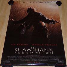 THE SHAWSHANK REDEMPTION 1992 ORIGINAL ADVANCE DS 1 SHEET MOVIE POSTER