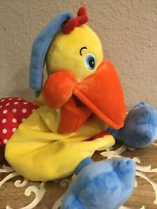 BIRD ONLY Melissa Doug Plush K Kid's Hungry Pelican Crinkly Wings Squeaky Bill