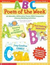 ABC Poem of the Week by Jerry Levine and Ellen Booth Church (2004, Paperback)