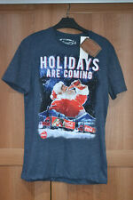 BNWT Coca Cola Christmas Truck T Shirt Holidays Are Coming S Small 89-94 35-37""