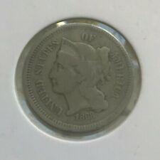 1868 Nickel 3 Cent Piece