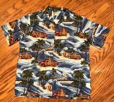 Hilo Hattie Hawaiian Shirt Men's 2XL